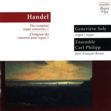 Handel: The complete organ concertos, 1